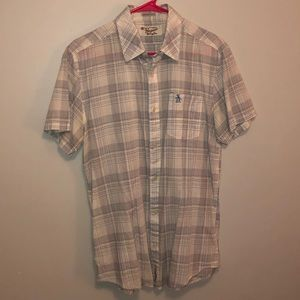 Original Penguin Shortsleeve Button Down